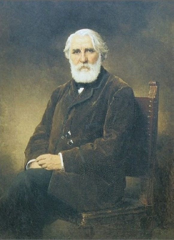 Portrait of the writer Ivan Turgenev, 1875