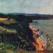 Primorsky coast. Etude. 1888
