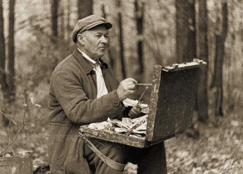 Rural life by Arkadiy Plastov