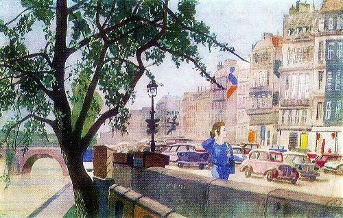 Spring in Paris, 1961-62