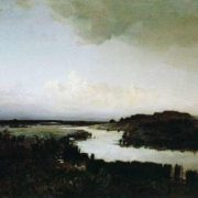 Steppe in the evening, 1875