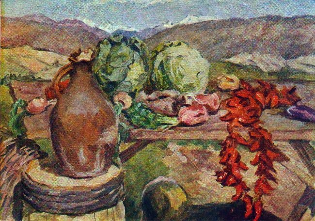 Still Life with Vegetables. 1933