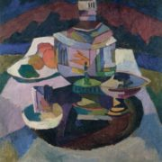 Still life. Samovar. 1913