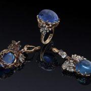 Stunning jewelry with diamonds