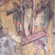 The Resurrection of Lazarus. 1428, Mystra, Greece