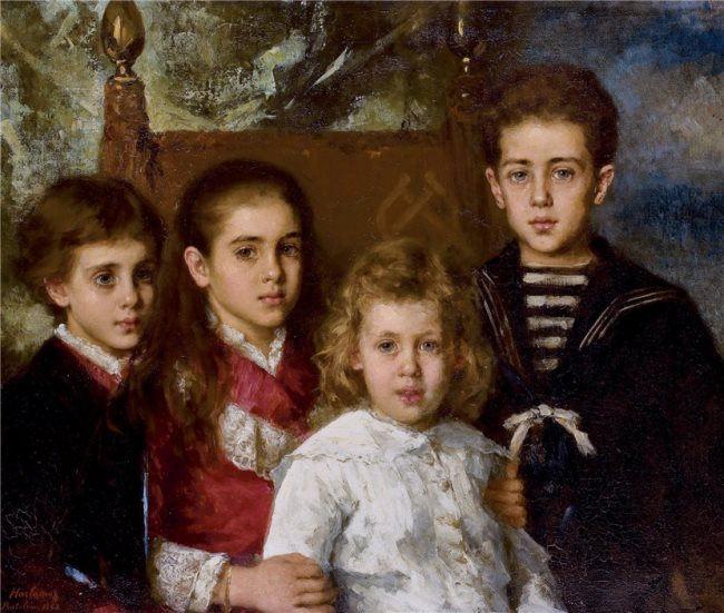 The children of Pavel Petrovich Demidov