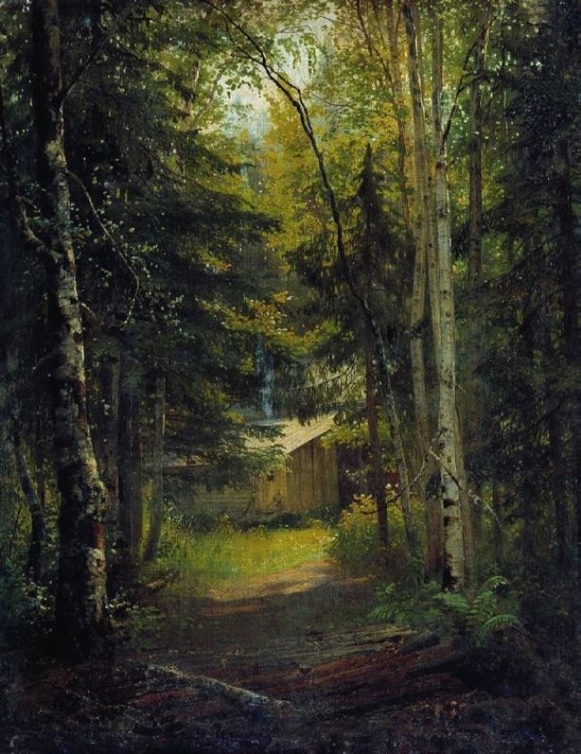 The lodge in the forest, 1870s