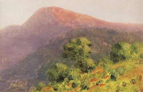 The mountains. 1885-1890