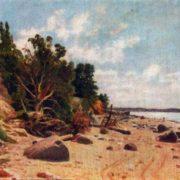 The shore of the sea. 1890