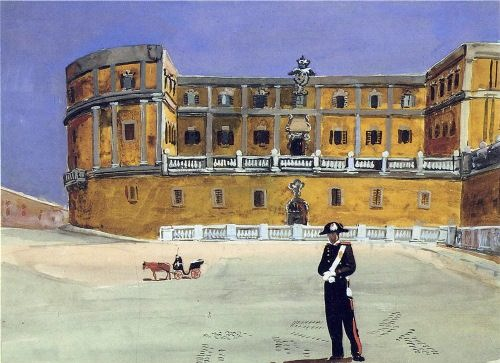 The square in Rome. 1935