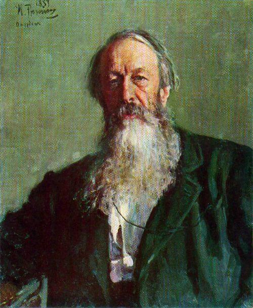 V.V. Stasov. 1883