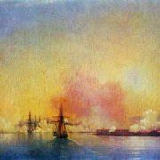 Arrival into Sevastopol Bay, 1852