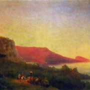 Evening in Crimea, Yalta. 1848