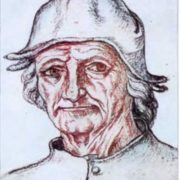 Hieronymus Bosch. Self-portrait. 1510