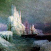 Ice mountains. 1870