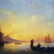 Neapolitan Bay in the morning. 1843