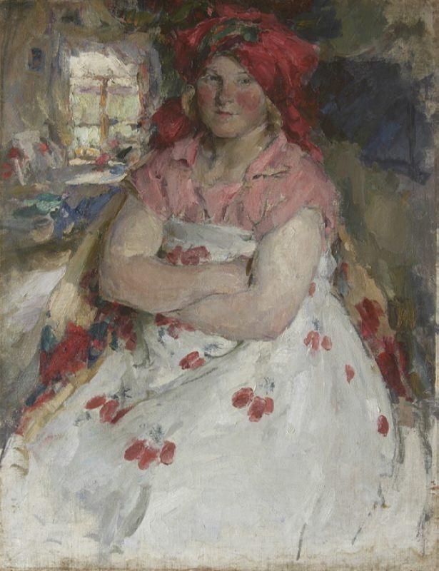 The Ryazan suburban woman. 1928