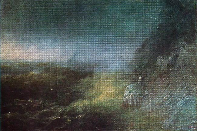 The Storm in the Black Sea. 1875