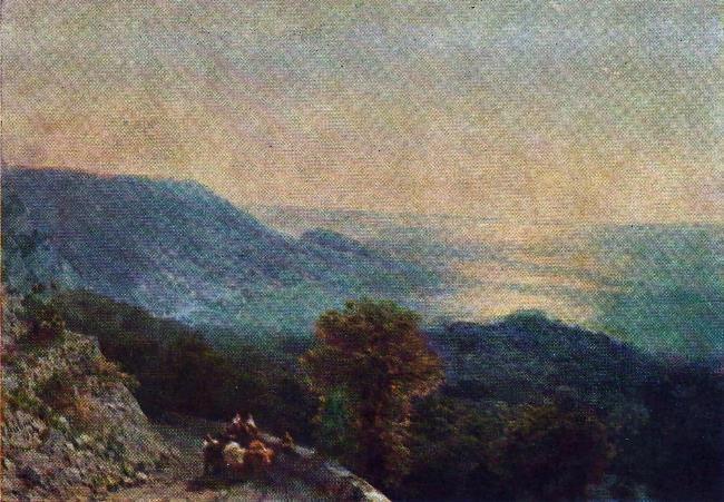 The road to Ai-Petri. 1894