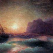 The seascape. Koktebel. 1880