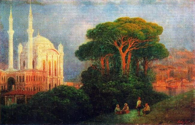 View in Constantinople. 1851
