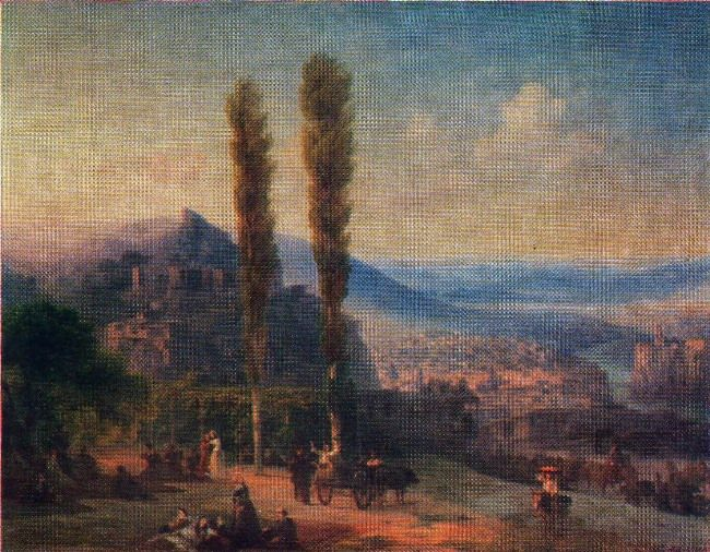 View of Tiflis. 1869