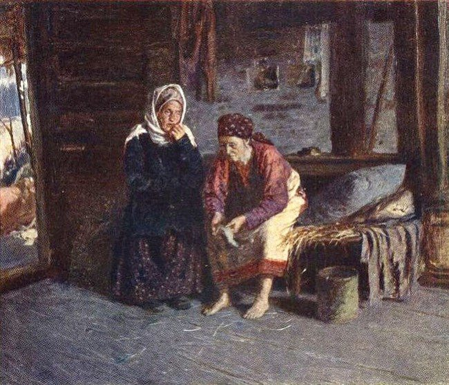 Visiting the sick, 1885