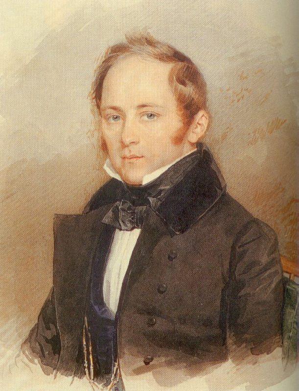 A.A. Bobrinsky. 1830s