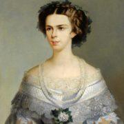 Amalia Evgenia Elizabeth of Bavaria, wife of Emperor Franz Josef I. Empress of Austria