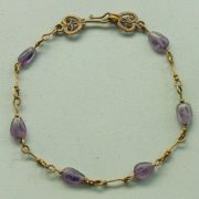 Bracelet. Byzantine artwork. From the Roman Forum.