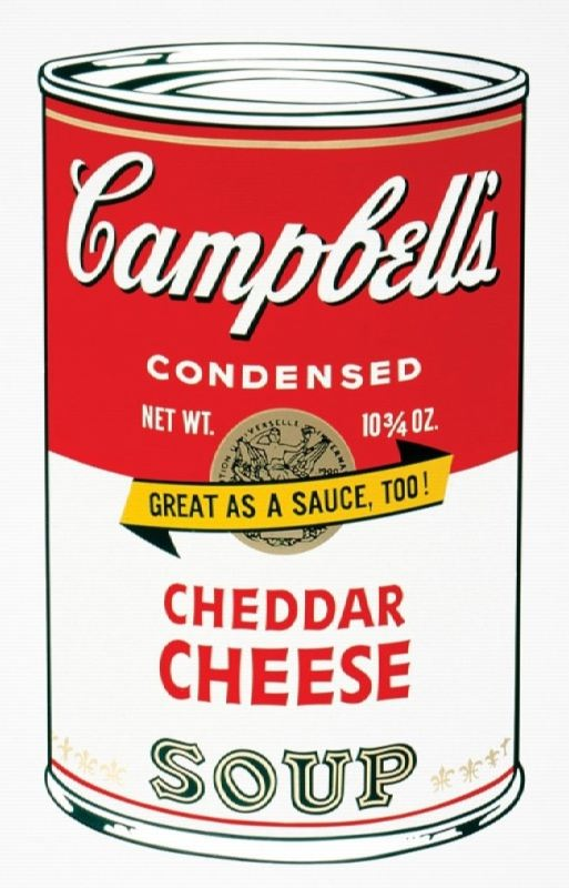 Campbell's cheese soup, 1962
