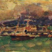 Catania. Sicily. Etude. 1894