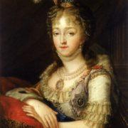 Empress Elizabeth Alekseevna, the wife of Emperor Alexander I
