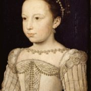 Francois Clouet. Margaret of Valois as a Young Princess