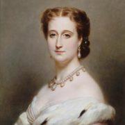 Franz Xaver Winterhalter. Portrait of Empress Eugenia, wife of Napoleon III
