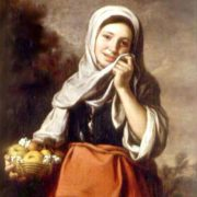Girl - Fruit saler, 1650, State Museum