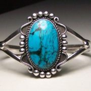 Gorgeous ring with turquoise