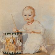 Grand Duke Konstantin Nikolayevich as a Child. The end of the 1820s