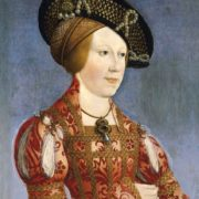 Hans Maler. Anne of Bohemia and Hungary. 1520