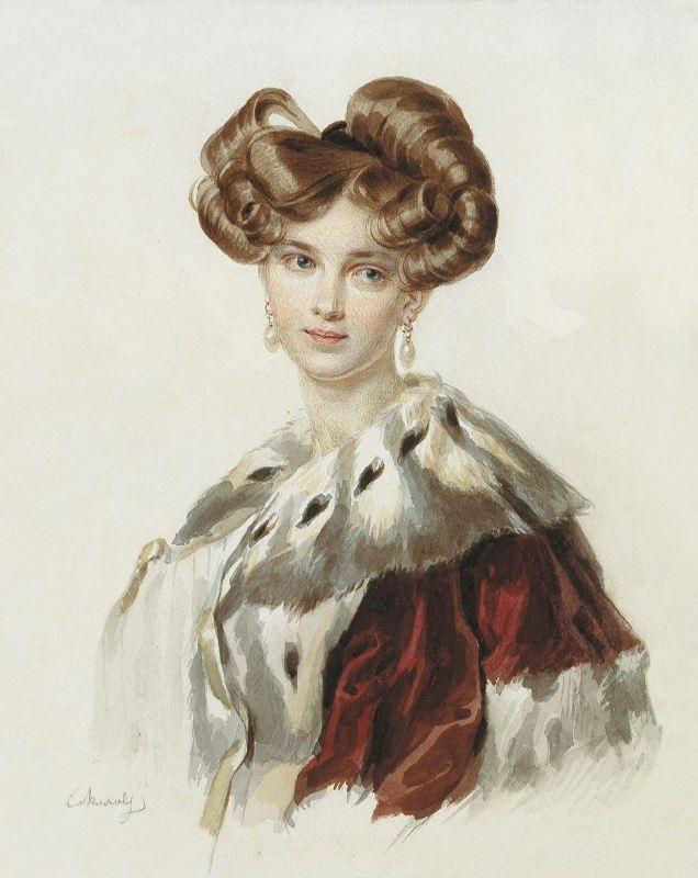 Idalia Grigorievna. 1820s