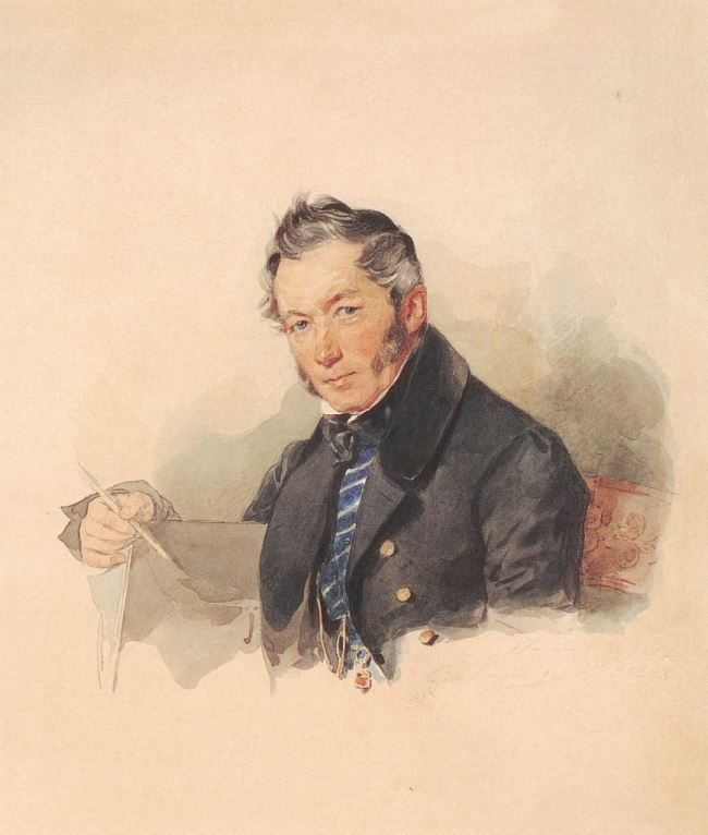 Joseph Iosifovich (1773-1852), Russian artist. 1830s
