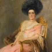 Lady by Konstantin Egorovich Makovsky