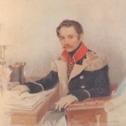Leonti Vasilievich Dubelt (1792-1862), general, head of the secret police. 1834