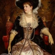 Margarita of Savoy. Queen of Italy