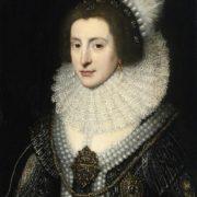 Michiel Jansz van Mierevelt. Portrait of Queen Elizabeth Stuart of Bavaria, the Winter Queen