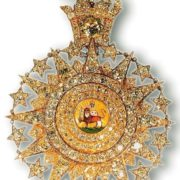 Order of the Lion and the Sun. The end of the 19th century. Gold, diamonds, enamel