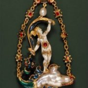 Pendant with pearls, 1580, Italy