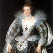 Peter Paul Rubens. Portrait of Anne of Austria