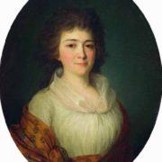 Portrait of Agrafena Mikhailovna Pisareva, born Durasova