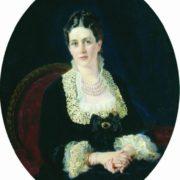 Portrait of Countess E.P. Sheremeteva, 1877